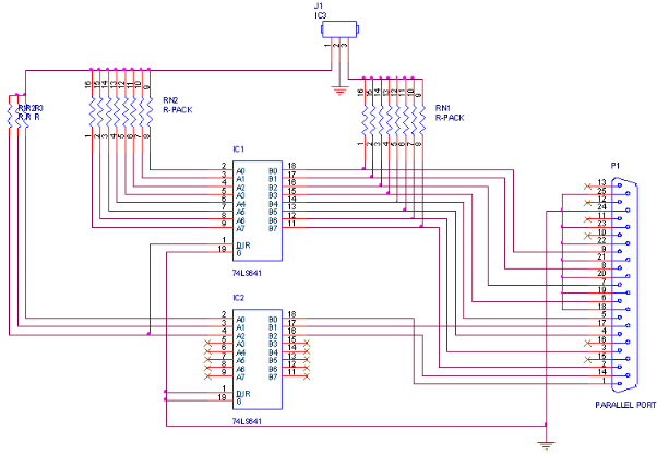 Interface Circuit FPGA